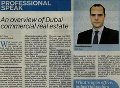 An overview of Dubai commercial real estate