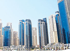 Dubai realty market on sound track