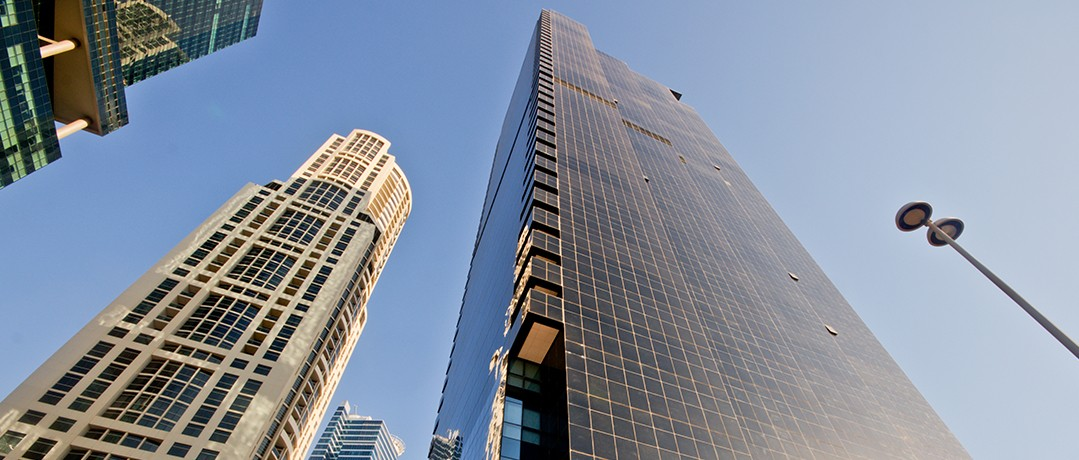 Shell and core office for rent in JBC3 JLT