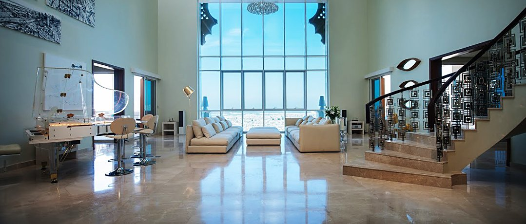 Triplex Penthouse in Marina Residences with Captivating Panorama